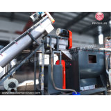 Plastik, der Maschinen-Hersteller-Maschinen für die Wiederverwertung des Plastiks aufbereitet