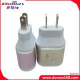 Carregador adaptável rápido do curso do adaptador do USB do plugue de parede do telefone móvel