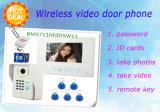 Drahtloser Touch Screen mit videotürklingel mit Speicher-Fernschlüssel Identifikation-Karte