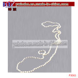 Girl Wedding Pearl Collier Boucles d'oreilles Bracelet Kids Jewelry Set (P3063)