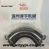 De Koreaanse Sanitaire Elleboog van het Type, T-stuk, Reductiemiddel