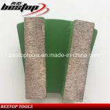 Алмазные шлифовальные сегмента на бетонный пол полировка