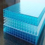 Folha oca plástica da clarabóia de Multiwall do policarbonato para 18mm