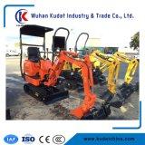 Mini máquina escavadora 800kg da esteira rolante com certificado do Ce (KD08)