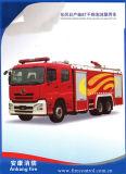 Espuma 8t de Dongfeng Nissan da venda/carro de bombeiros Diesel quentes Agente do pó