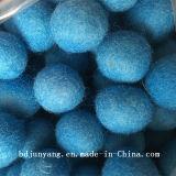 Billes 100% au détail organiques de dessiccateur de laines de la Mongolie de qualité amicale d'Eco