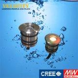Indicatore luminoso subacqueo di alta qualità IP68 RGB LED dell'acciaio inossidabile 316 per la piscina
