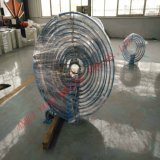 Spiraalvormige Buis die Machine voor de Opbrengst van de Pijp van de Ventilatie van de Mijn vormt