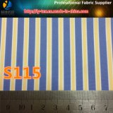 Проворная ткань пряжи полиэфира товаров покрашенная сплетенная нашивкой для одежды (S45.115)