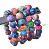 Vente en gros de bijoux en perles en argile pour hommes et femmes