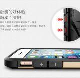 für iPhone 7 2 in 1 PC Kasten-Gummideckel mit Silikon-Anschlagpuffer