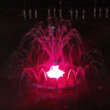 LED Color Changing Decorative 1.2m Small Dancing Fountain
