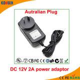 Adaptador AC / DC Adaptador de fuente de alimentación de conmutación 12V 2A