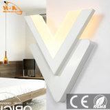 RoHS Ce Aprobación Zhongshan Iluminación De Fábrica De Acrilico 12W Interior Moderno LED Lámpara De Pared