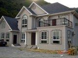빨리 조립식 가벼운 강철 별장 집을 설치하십시오