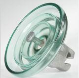 Aisladores de cristal endurecidos del casquillo y del tipo del Pin