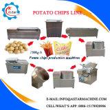 Faible investissement manioc Crisp Potato Chips Ligne de traitement