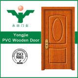 Qualidade de estilo moderno PVC porta de madeira do Giro