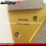 사다리꼴 금속 다이아몬드 지면 분쇄기를 위한 구체적인 가는 패드 긁는 도구
