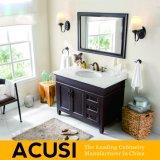 Vaidade moderna americana do banheiro da madeira contínua do carvalho do estilo (ACS1-W34)