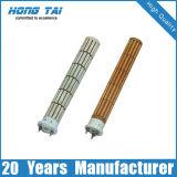 Cerámica de la bobina de calefacción eléctrica de tubo radiante / Calentadores Eléctricos 220VAC, con aletas Calentadores de tiras