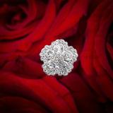 Sparkly Crystal Pearl Wedding Bouquet Jóias Rhinestone Brooch Bouquet