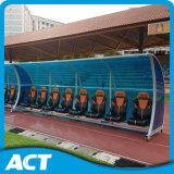Asientos para futbolistas móviles para exteriores