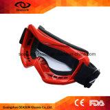 Sport dell'obiettivo di colore di alta qualità che corre fuori dai vetri degli occhiali di protezione di motocross della strada per i vetri del pattino della bici del motociclo