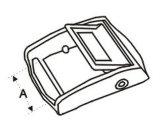 Zinc Alloy Nickel ou Chrome Plated Belt Buckle Modelo Dp-5701z