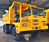 Carro de vaciado rígido de FAW, carro de mina con capacidad de cargamento de 45 toneladas