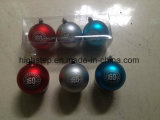 عيد ميلاد المسيح كرة مع علامة تجاريّة