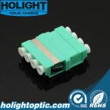 LC all'adattatore ottico della fibra di LC Om4 senza flangia