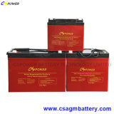 Cspower Gel Batterie solaire, Deep Cycle Marine Batterie 12V 100ah