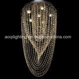 Lampe lumineuse d'or de luxe de plafond (AQ88103)