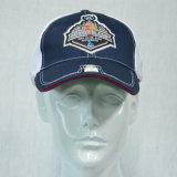 Blue&White 6のパネルの綿の野球帽の洗浄帽子
