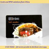 Completos Colors Cartão Membro VIP plástico para Restaurant and Cafe