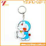 cadeau de promotion de caoutchouc / PVC trousseau Keyholder Keyring/ et le logo personnalisé (YB-HD-145)