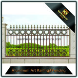 Rete fissa del ferro personalizzata decorazione della fusion d'alluminio del giardino per obbligazione