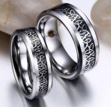De nieuwe Ringen van Titainum van het Staal van de Stijl/Gouden Trouwring
