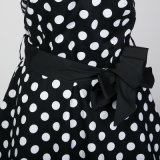 Halter-Neck夕方党新婦付添人の服に着せる2017vintage様式