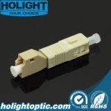 Mâle hybride de Sc d'adaptateur au simplex femelle millimètre de LC