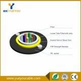 Câble ADSS 4 cœurs Câble fibre optique à fibre optique monomode pour portée de 80 m