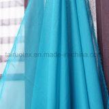 Imitar la seda Chiffon tejido tejido vestido de dama