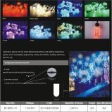 Licht wasserdichter des Weihnachtsfeiertags-im Freien Partei-Wasserfall-Vorhang-Streifen-LED
