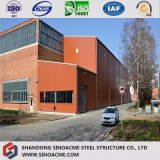 Costruzione prefabbricata modulare del magazzino del blocco per grafici d'acciaio di basso costo