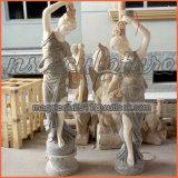 Weißes Licht-weibliche Statuen Ms1704