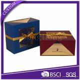Поставщики творческого золотистого подарка корабля высокого качества упаковывая