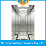 A capacidade 1000kg de Fushijia dirige o elevador com decoração simples