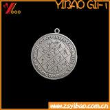 De Medaille van het Muntstuk van de Legering van Zin van de Sport van het Embleem van de douane/de Gift van de Herinnering van het Medaillon (yb-u-61)