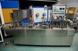Завалка чашки минеральной вода запечатывания чашки югурта заполняя и машина запечатывания